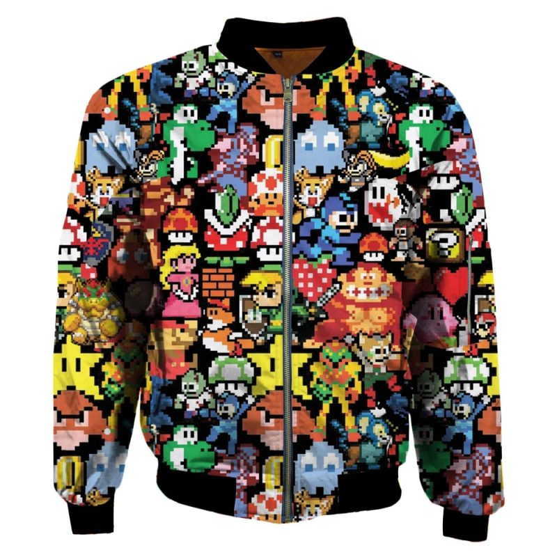 Pixel Cartoon Jacket